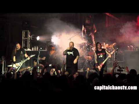 "Exodus ""Strike Of The Beast"" live in Alameda, California on Capital Chaos TV"