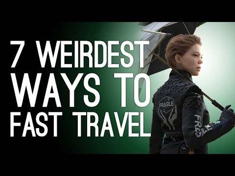 7 Weirdest Fast Travel Systems That Still Beat Walking