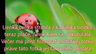 Michaela Paštéková -  Lienka Lenka karaoke