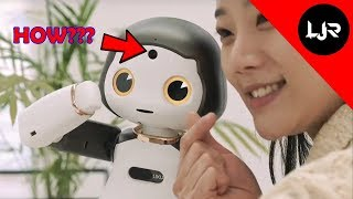 Torooc Liku - This Korean Robot Actually Knows What Selfie Is ( CES 2019 )