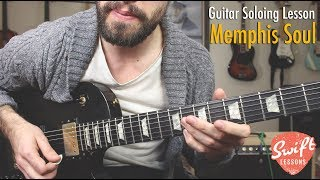 Memphis Soul Guitar Soloing Lesson 9 Melodic Licks w Backing Track.mp3
