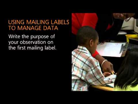 Collecting Student Data With Mailing Labels Tips For
