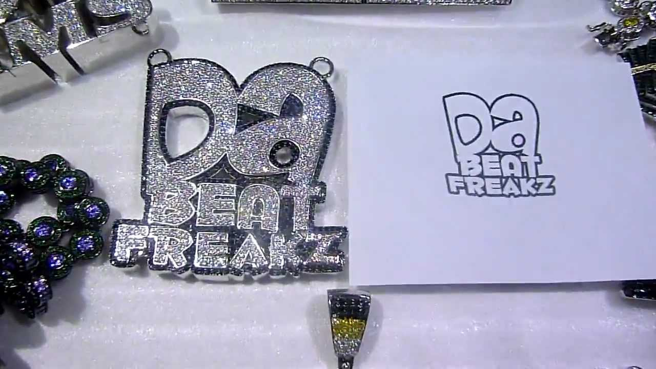 Custom made jewelry by labmadejewelry da beat freakz 3d lab youtube premium aloadofball Choice Image