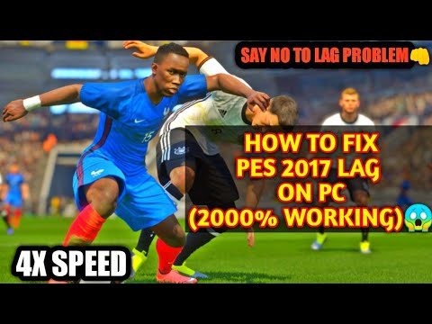 HOW TO FIX PES 2017 LAG (PART 3)2000% working