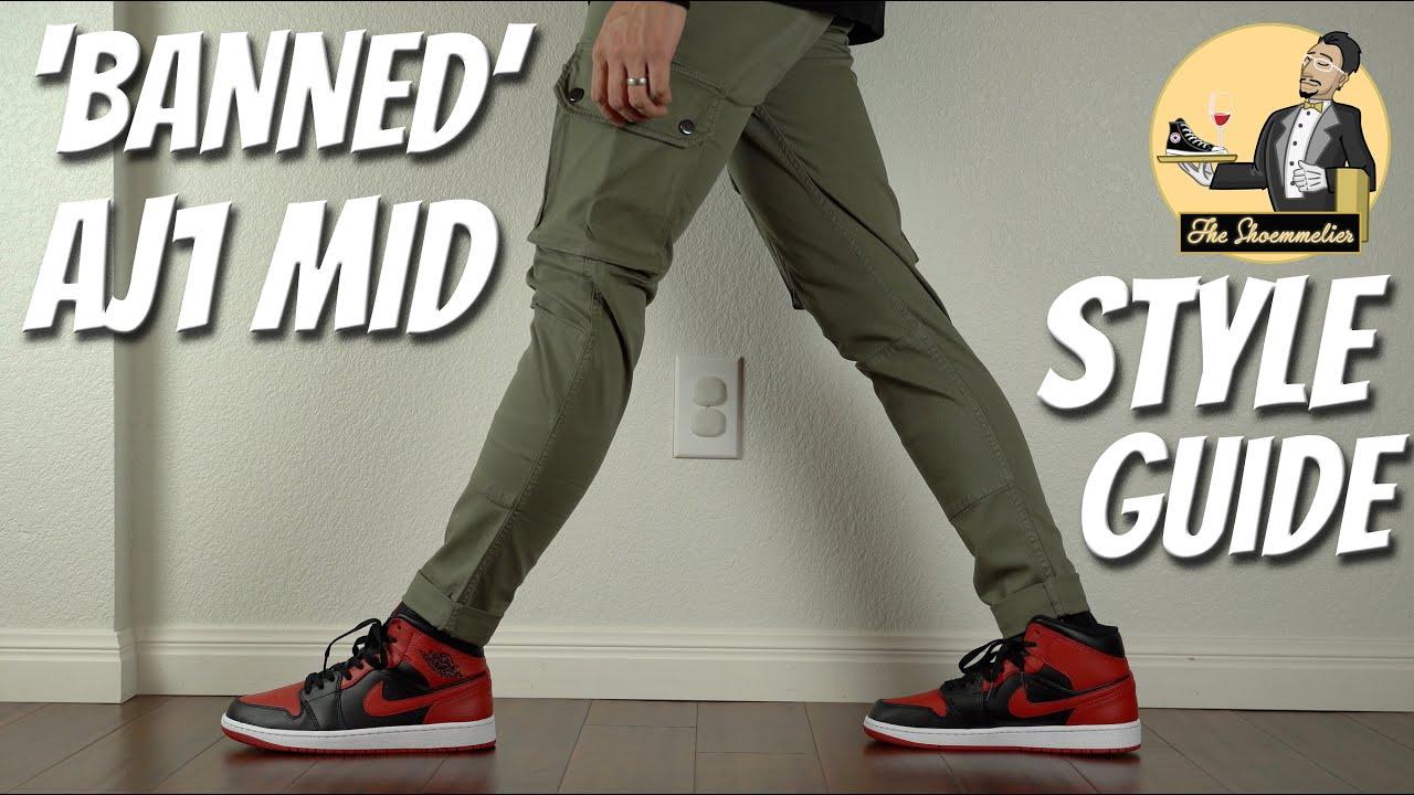 STYLE GUIDE: Nike Air Jordan 1 Mid 'Banned'