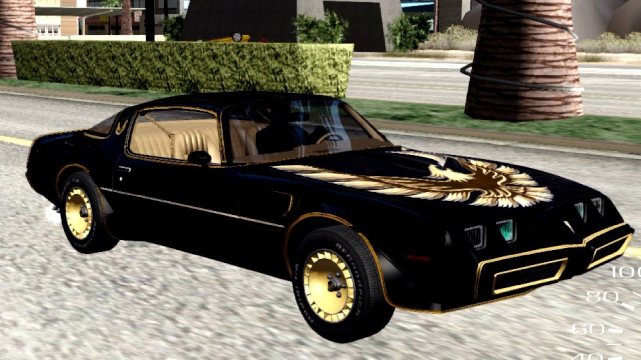 Smokey and the bandit trans am-8490