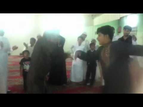 Hussain & Abdul Ghani dancing