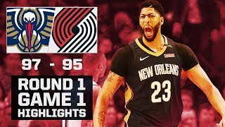 Pelicans Highlights vs. Trail Blazers - Game 1 - 4/14/18