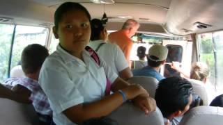Viaje en bus - Bocas del Toro (Panamá)