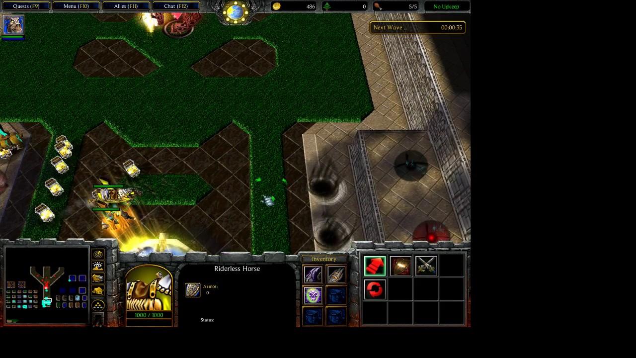 [ Warcraft III ] Darkness reborn VN : Win Hard Part 2