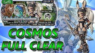 Cosmos Full Clear No Synergy Or Vayne ~ Girded For Freedom