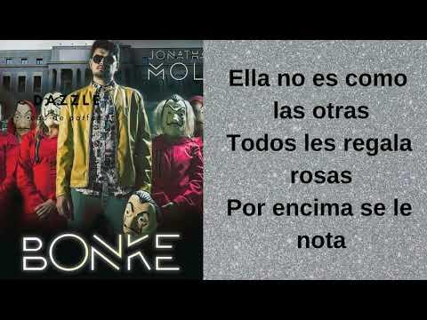 BONKE - LETRA Jhonatan Moly