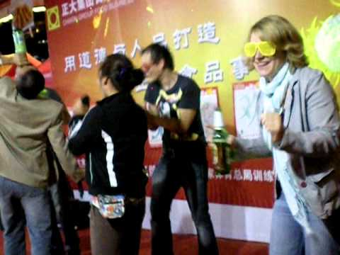 Drunken Karaoke at the Qingdao Beer Festival