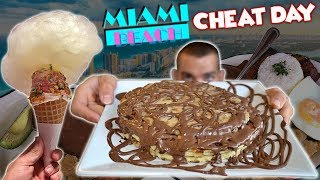 A Miami Beach Cheat Day  | 5,500 Calories Of Fun | Wicked Cheat Day #73