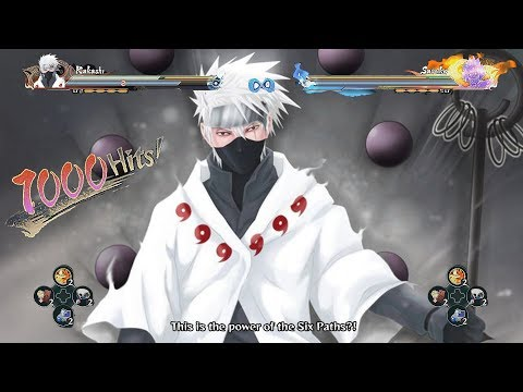 Inner Six Paths Elements Kakashi Awakened - Naruto Shippuden Ultimate Ninja Storm 4 Road to Boruto