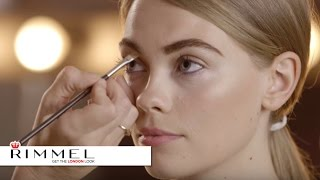 how to get dramatic brows   makeup tutorial   rimmel london