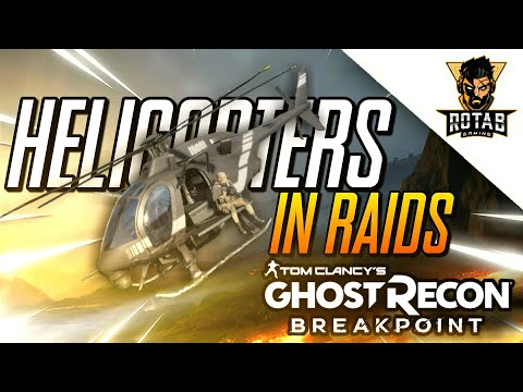Ghost Recon Breakpoint: How to get helicopters into the Raid for use |
