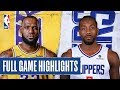 LAKERS at CLIPPERS  Kawhi Drops 30 In Clippers Debut  Oct 22 2019 video