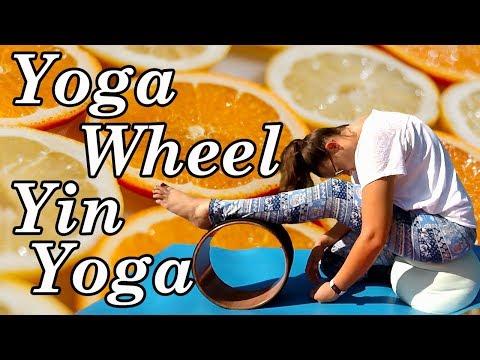 Yin Yoga with a Yoga Wheel