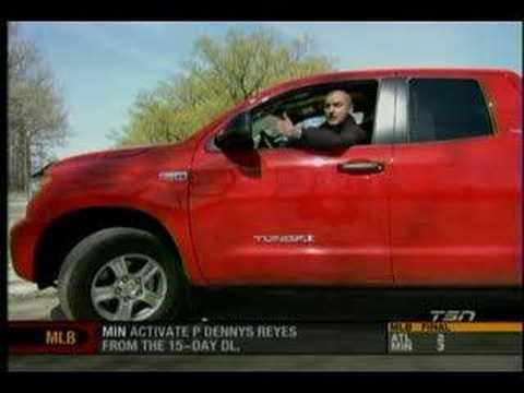 2007 Toyota Tundra Review From TSNu0027s Motoring 2007   YouTube