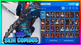 "Before You Buy ""EXO-SPINE BLUE"" - All Skin Combinations In Fortnite (183+ Skins)"