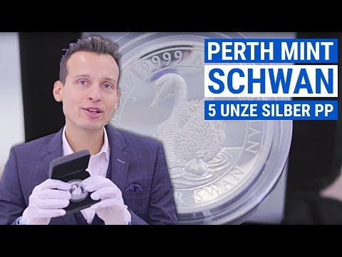 5 Unzen Silbermünze