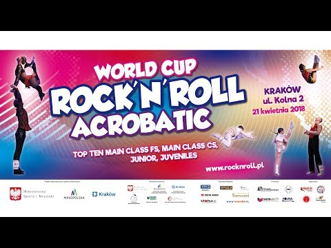 WORLD CUP ROCK'N'ROLL ACROBATIC KRAKOW 2018