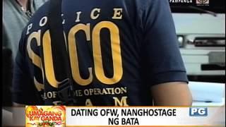 Hostage-taker sa Pampanga, napatay ng mga pulis