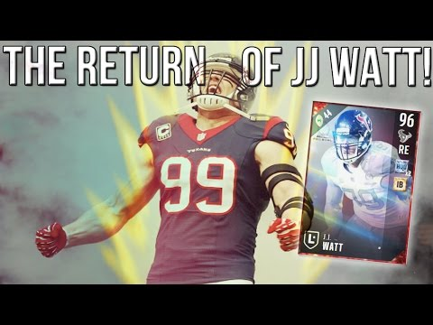 Madden 17 Ultimate Team :: The Return Of JJ Watt! Kim K Legs! :: Madden 17 Ultimate Team