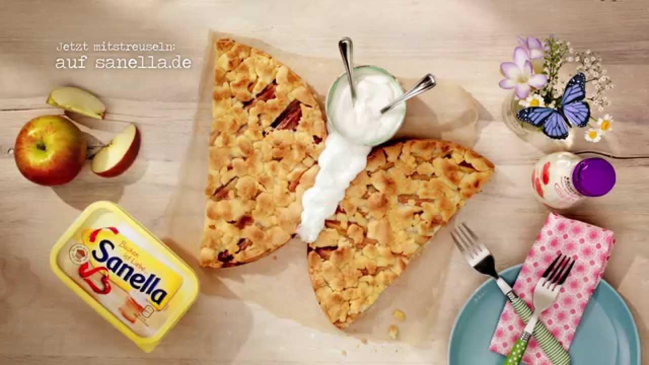 Sanella Tv Spot Streusel Schmetterling Youtube
