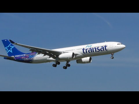 Plane Spotting at Amsterdam Schiphol Airport, Morning Arrivals RW06 (Part 2)