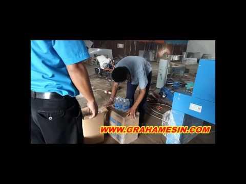Mesin Wrapping Pengerut Plastik Kapasitas Industri