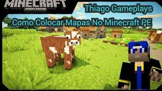 Como Colocar Mapas No Minecraft PE.