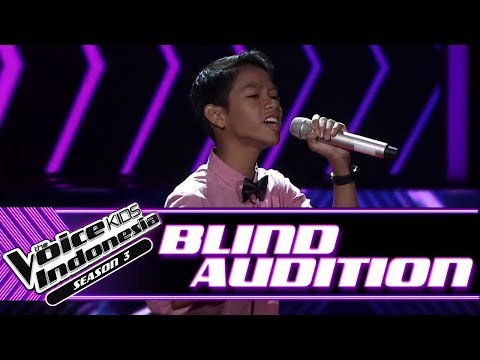 Reink - Hey, Soul Sister | Blind Auditions | The Voice Kids Indonesia Season 3 GTV 2018