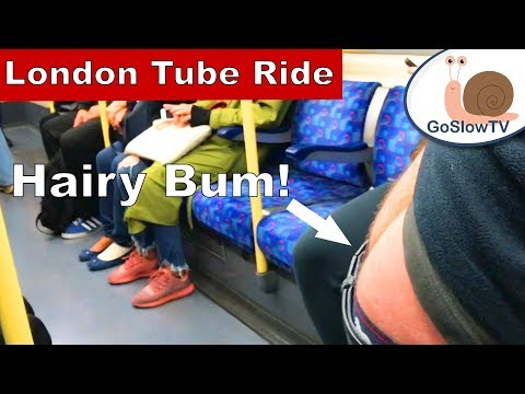London Underground Tube Ride | Hairy Bum | Jubilee Line | Slow TV | Episode 42 (2018)