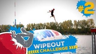 VLIEGENDE YOUTUBERS! - WIPEOUT CHALLENGE #2