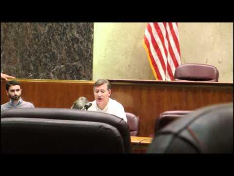 Eric Scheidler Defends Free Speech to Chicago City Council