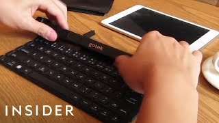 Type Anywhere With A Keyboard You Can Roll