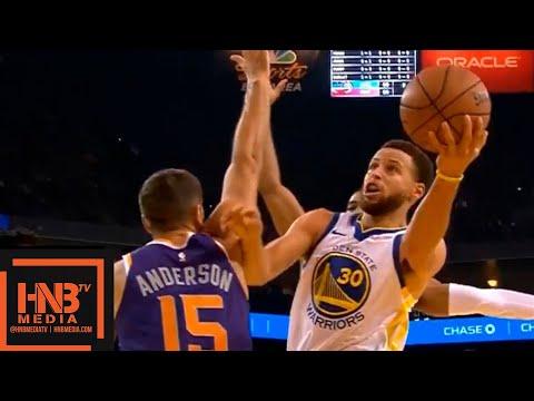 Golden State Warriors vs Phoenix Suns 1st Qtr Highlights | 10.08.2018, NBA Preseason