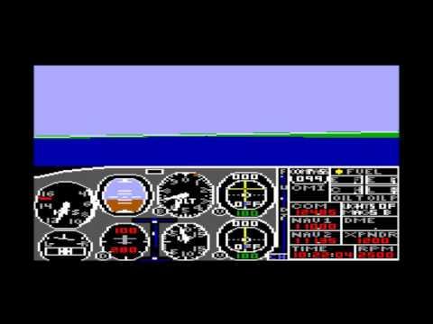 Flight Simulator II for the TRS-80 CoCo