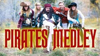 Pirates of The Caribbean Medley - A Capella - Peter Hollens & Gardiner Sisters (DevinSuperTramp)