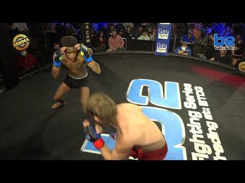HRMMA 115 Fight 3 Darrell Simmons vs Alec Kessler 145 Ammy