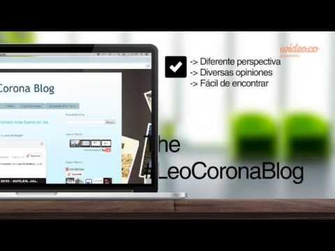 Vídeo promocional de The #LeoCoronaBlog