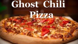 Howto make a pizza,Pizza Company Makes Peach Ghost pepper pizza