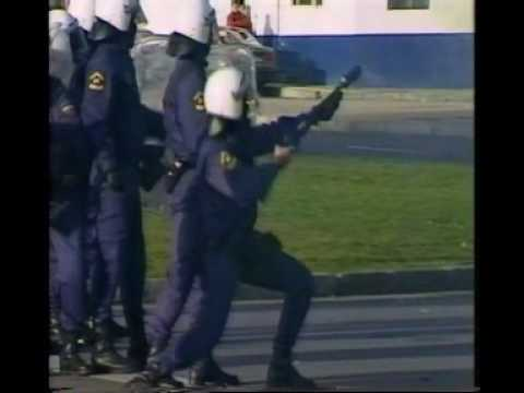 Video Inédito sobre el conflicto de Naval Gijón (2000)