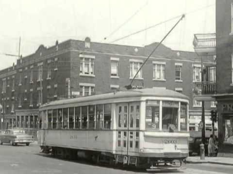 Montreal Streetcars Tramways Trollys