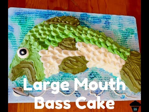Large Mouth Bass Cake