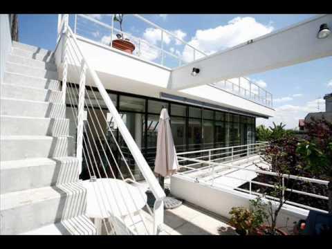 immobilier paris vente maison d 39 architecte mont val youtube. Black Bedroom Furniture Sets. Home Design Ideas