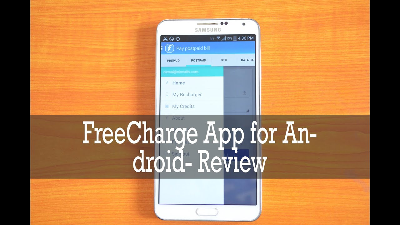 FreeCharge App for Android- Review