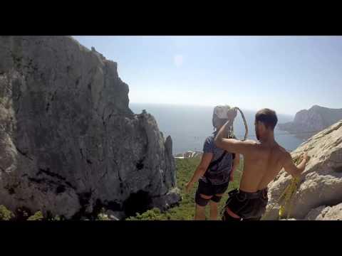 Андрей Каримов на Ильяс-кая RopeJumping With SkyLine X-Team In Crimea